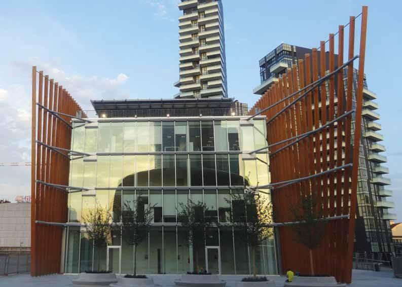 Una foresta tra i grattacieli per coima firmata mario for Riviste di architettura on line