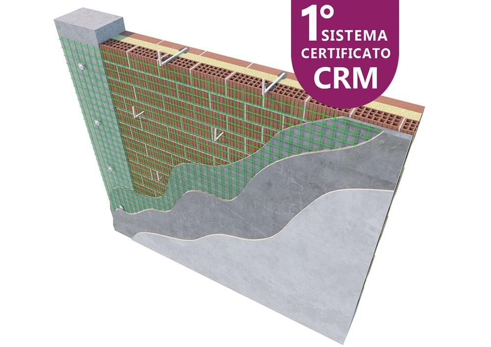 RI-Struttura di Fibrenet, primo sistema CRM per uso strutturale certificato dal CSLP
