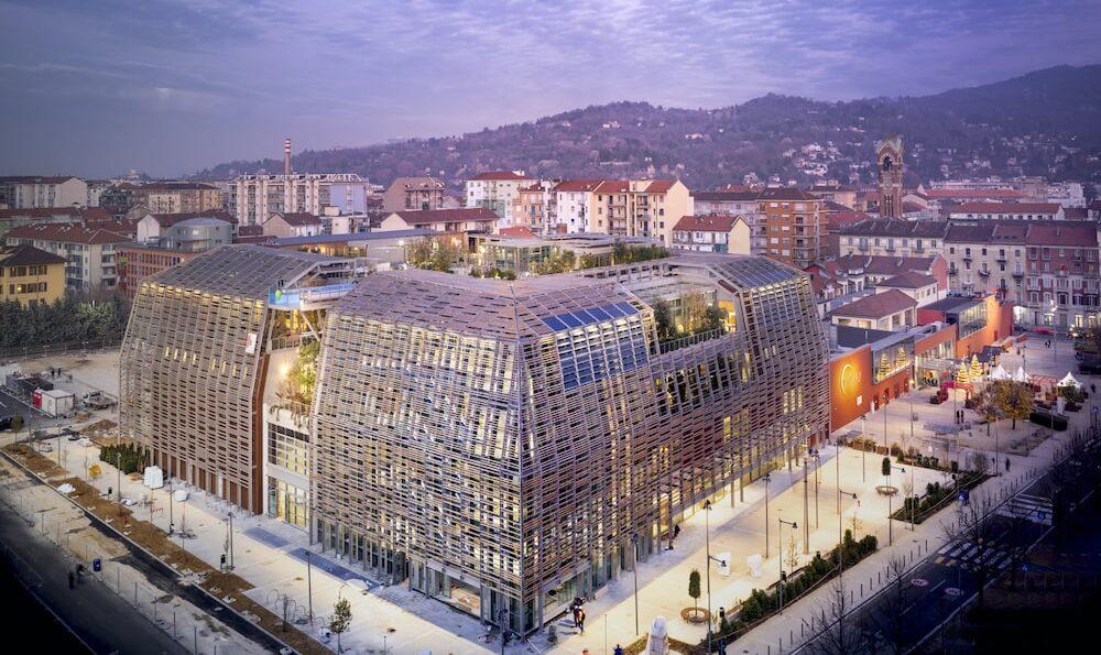 Green Pea: architettura sostenibile per il primo green retail park italiano