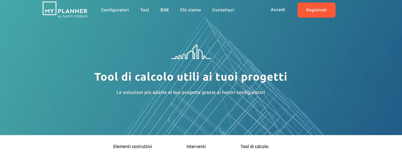 Saint-Gobain lanciaMyPlanner,piattaforma digitale dedicata al mondo della progettazione