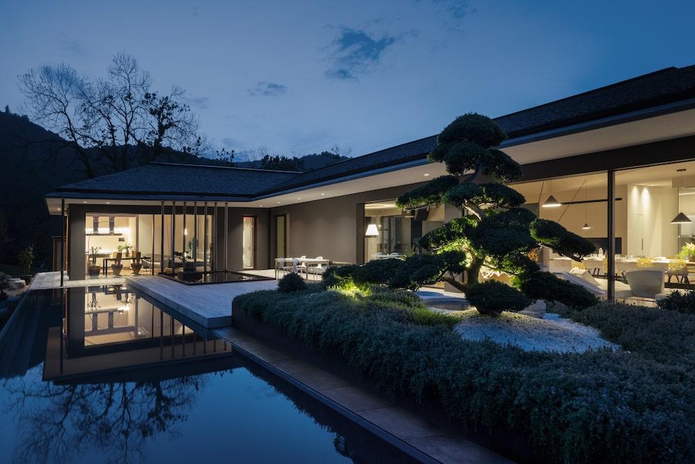Villa IE, la casa di design di Damilanostudio Architects ispirata al Giappone