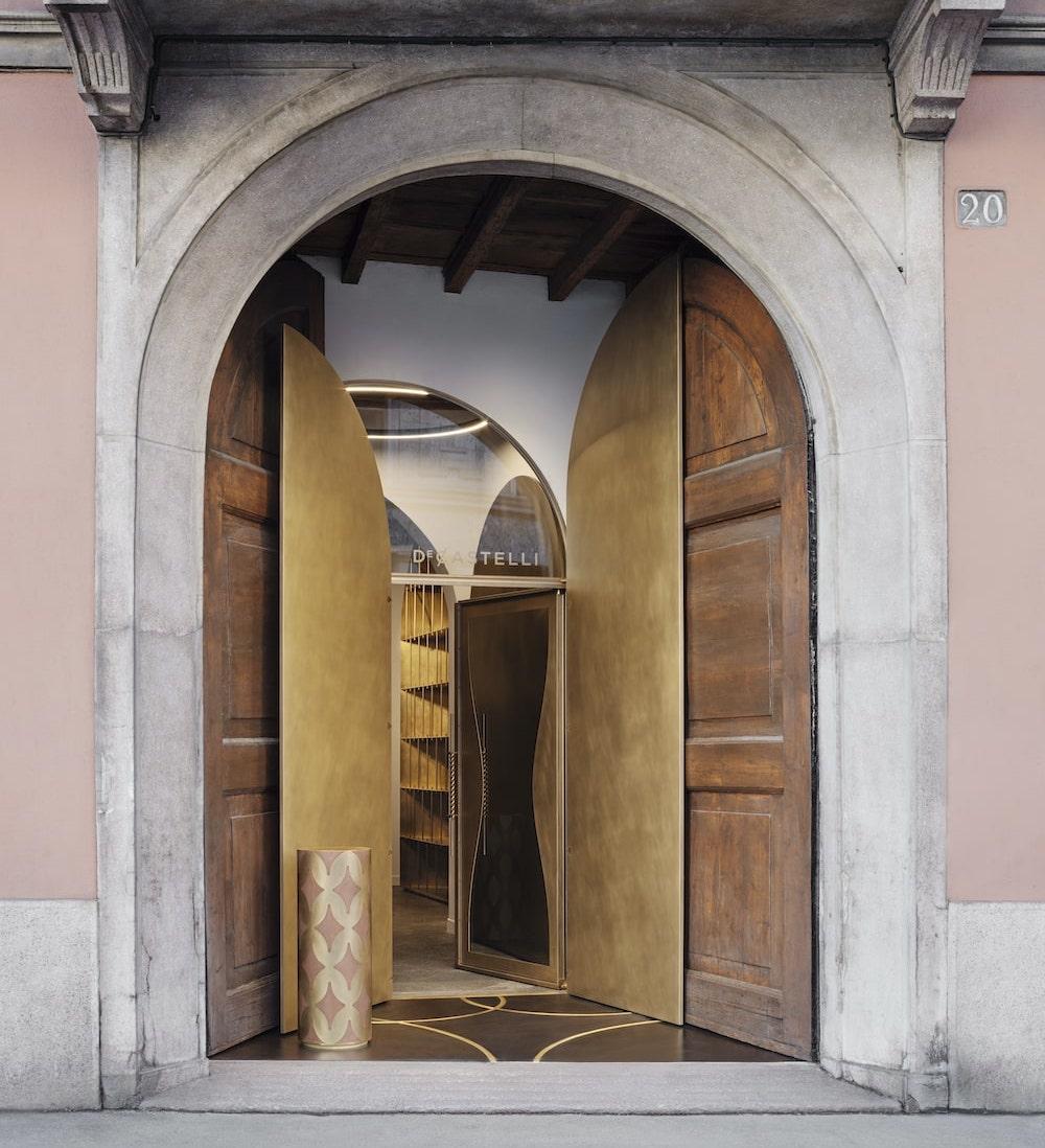 Apre a Milano il nuovo showroom De Castelli