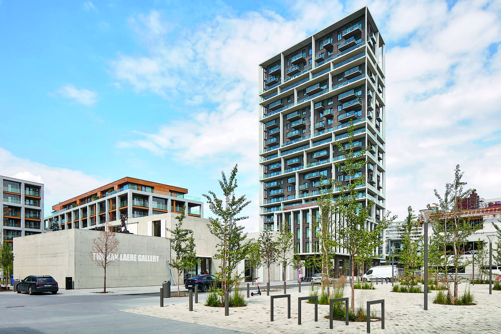 Torre di C.F. Møller Architects e Brut ad Aversa: una comunità di 24 piani