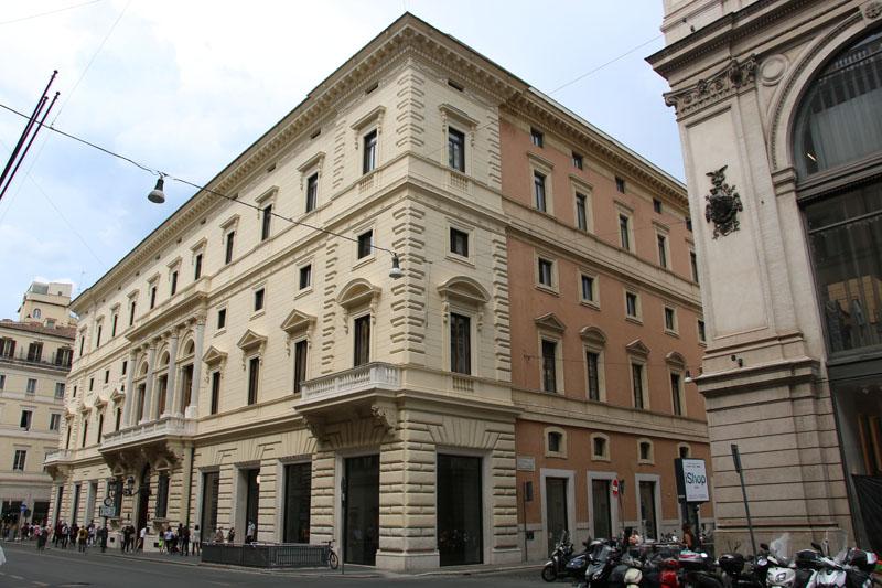 Rifunzionalizzazione ed efficientamento energetico del Palazzo Marignoli a Roma