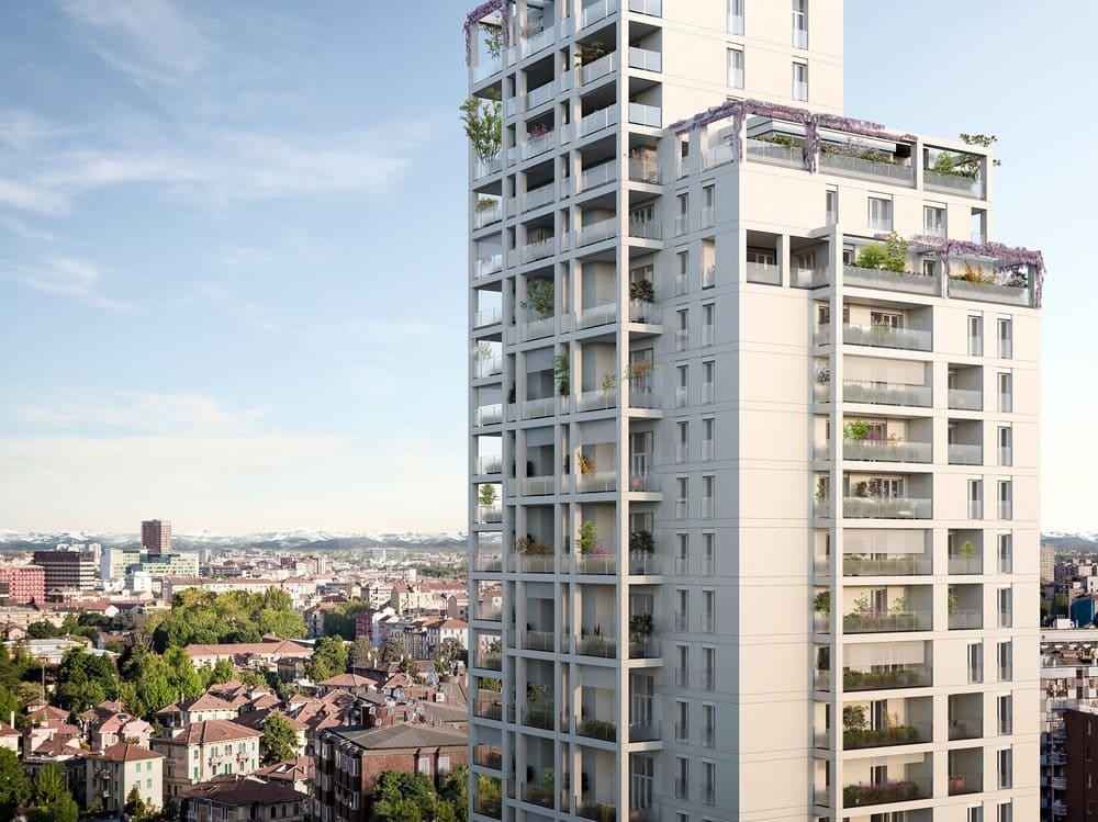 Torre Milano: 450 monoblocchi Alpac su misura per la gestione dei fori finestra