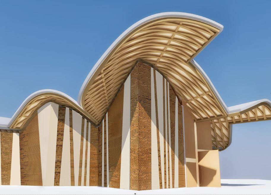 Inaugurata a Ferrara la chiesa San Giacomo Apostolo dello studio EMBT-Tagliabue